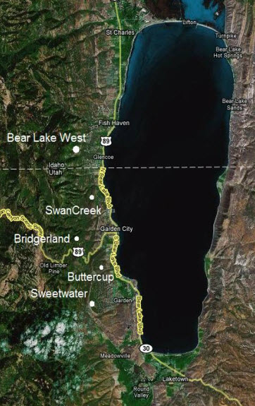 Bear Lake Subdivisions